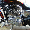 Sportster Inspection Cover Finned Chrome