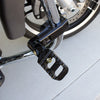 Highway Peg Mount 1-1/4 Tubing 3-1/8 Offset Black