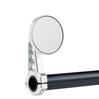 "2-1/4"" Handlebar Mount Mirrors Clear"
