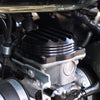 Triumph EFI Carb Tops Black