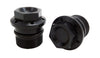 CB750 Fork Tube Plugs Black (pair)
