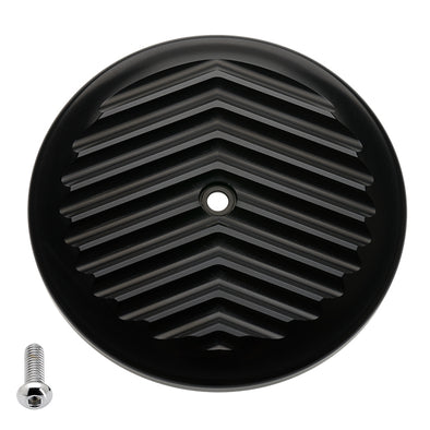 VT Air Cleaner Cover V Fin Black