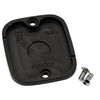 Front Master Cylinder Cover 96-up Finned Black