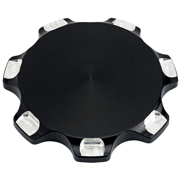 Triumph Billet Gas Cap Smooth Black