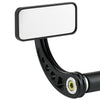 Rectangle Bar End Mirror Stem C Black