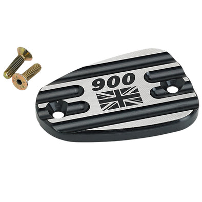 Triumph Front Master Cylinder Cover Union Jack 900 Black