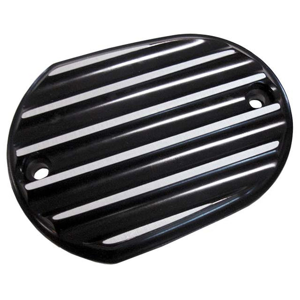 Sportster Front Master Cylinder Cover Finned Black
