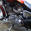 Sportster Derby Cover Finned Chrome