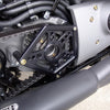 Sportster Sprocket Cover Black Back Side