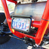 UTV License and Tag Light Assembly