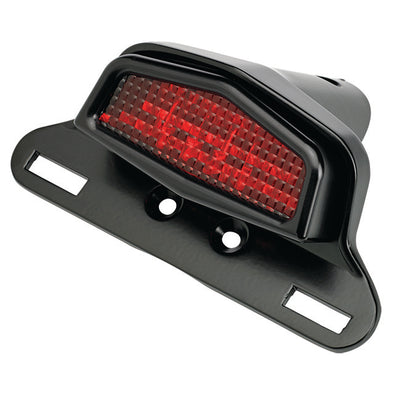 Lucas Taillight Bracket Semi-Gloss Black