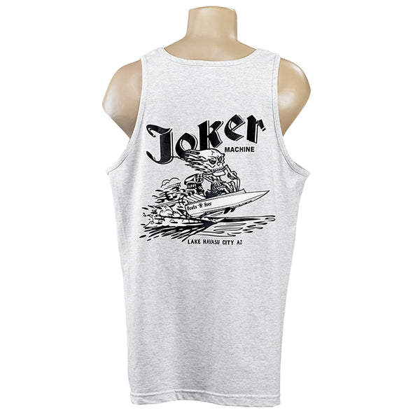 Boats 'N Hoes Tank Top Grey