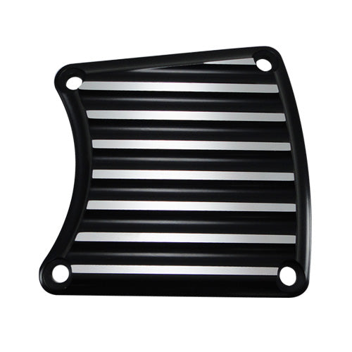 FL/FXR Inspection Cover Finned Black