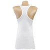 Girls Racerback Tanks White