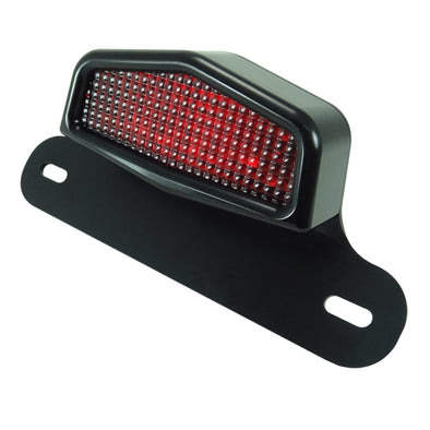 Cafe LED Taillight and License Plate Assembly Installation