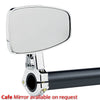 Cafe Handlebar Mount Mirrors