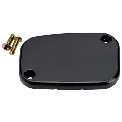 Front Master Cylinder Cover Smooth Black FL, V-Rod