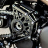 Series 900 Triumph Sprocket Cover Black