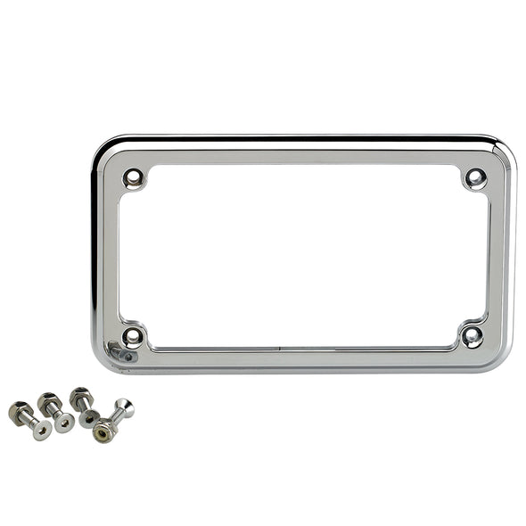 Thru Hole License Plate Frame