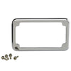 Blind Hole License Plate Frame