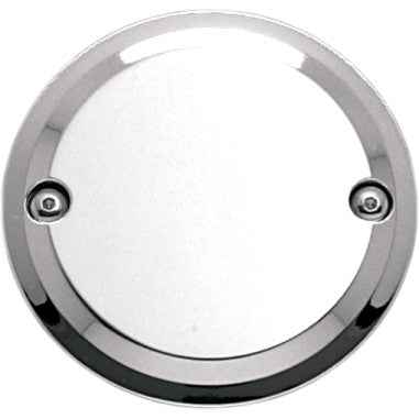 2 Hole Point Cover Chrome Smooth