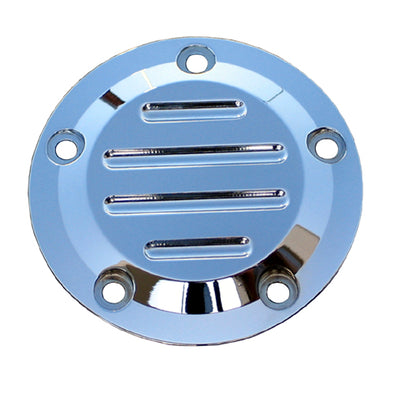 5 Hole Point Covers Ball-Mill Chrome