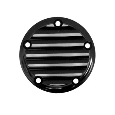 5 Hole Point Cover Black Finned