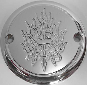 2 Hole Point Cover Chrome Money to Burn