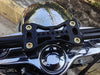 "Joker Machine Bridge Style 2"" Handlebar Clamps on a 2013 Harley-Davidson Switchback FLD"