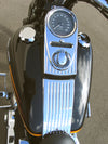 Lower Dash Panels Late Model Softail application