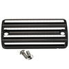Pre-96 Front Master Cylinder Cover Finned Black Silver