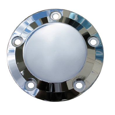 5 Hole Point Cover Chrome Smooth