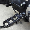 Narrow Serrated Footpegs Black
