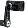 Rectangle Bar End Mirror Stem D Black