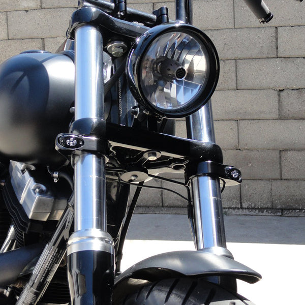 Front or Rear Chrome Motorcycle Turn Signal Lights Mounting Brackets Motorcycle Parts Auto Parts and Vehicles