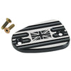 Triumph Front Master Cylinder Cover Union Jack Black