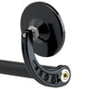 3-1/4 Bar End Mirror Stem C Black