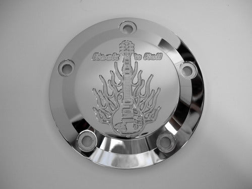 5 Hole Point Cover Chrome Rock-n-Roll