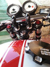 Triumph Billet Gas Cap Union Jack 900 Black