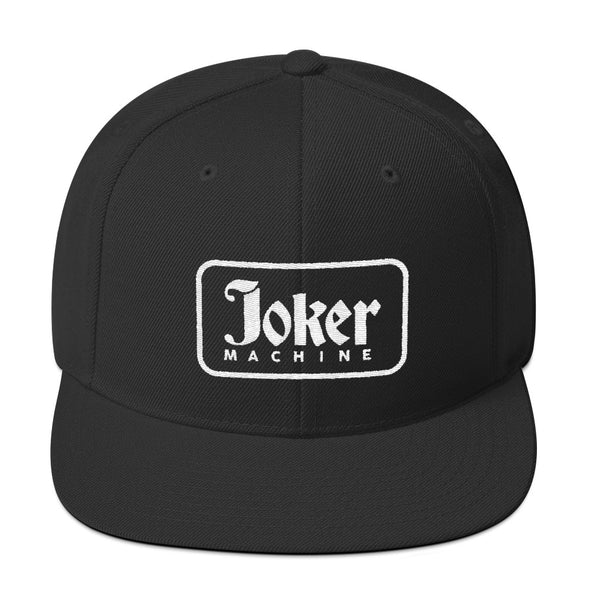 Joker Machine Snapback Hat