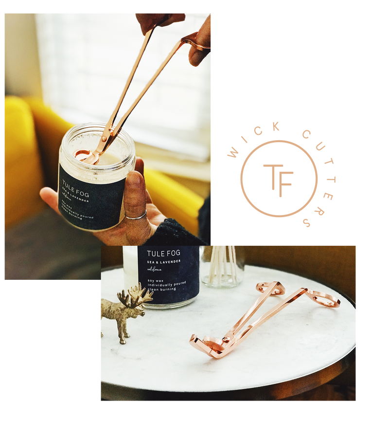TF  Rose Gold Wick Cutters