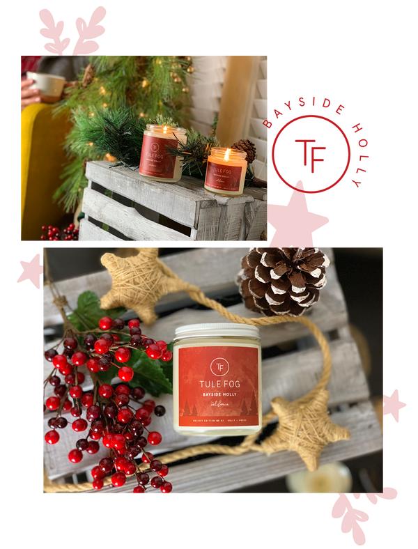Bayside Holly | Soy Candle
