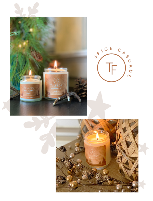 Spice Cascade | Soy Candle