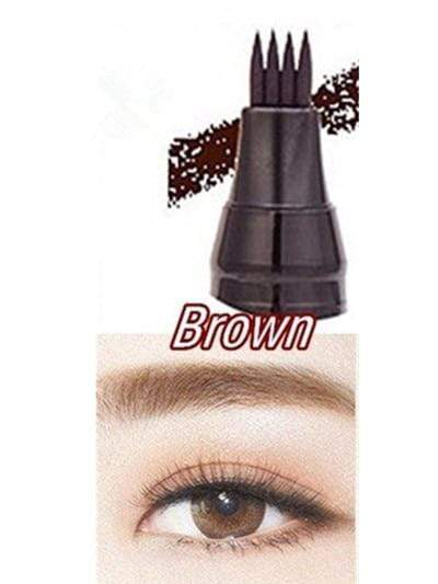La Belle Sophie 02- Brown Eyebrow Pen Eye Makeup Microblading Tattoo