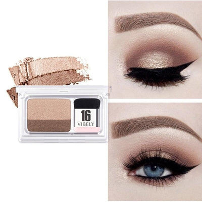 La Belle Sophie 1 DW Double Color Eyeshadow Palette