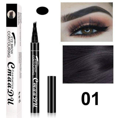 La Belle Sophie 1 UP 2 Eyebrow Pen Eye Makeup Microblading Tattoo