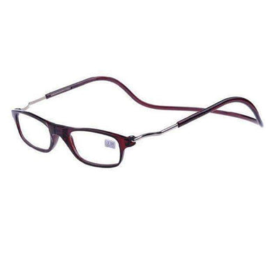 La Belle Sophie +100 / Brown -Magic Magnetic Reading Glasses