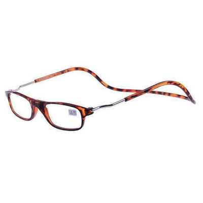 La Belle Sophie +100 / Leopard Magic Magnetic Reading Glasses