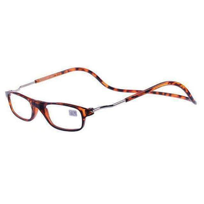 La Belle Sophie +100 / Leopard -Magic Magnetic Reading Glasses