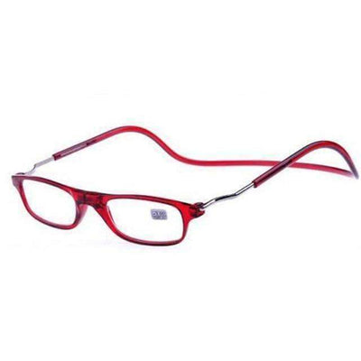 La Belle Sophie +100 / Red -Magic Magnetic Reading Glasses